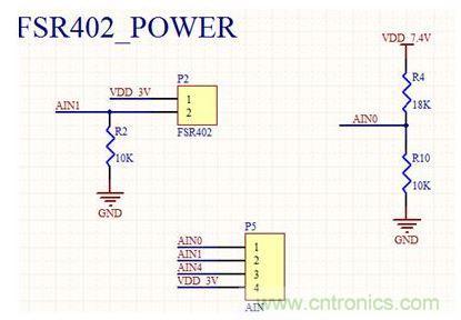 上图为伺服电机驱动电路,该电路较为简单,只需要提供电源以及pwm输入
