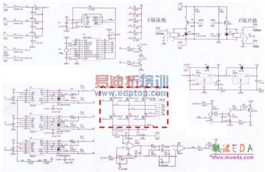 该控制器采用27v直供电,10w的电机驱动采用15khz调制的pwm单极脉冲