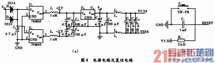 温度传感器采用lm35dz