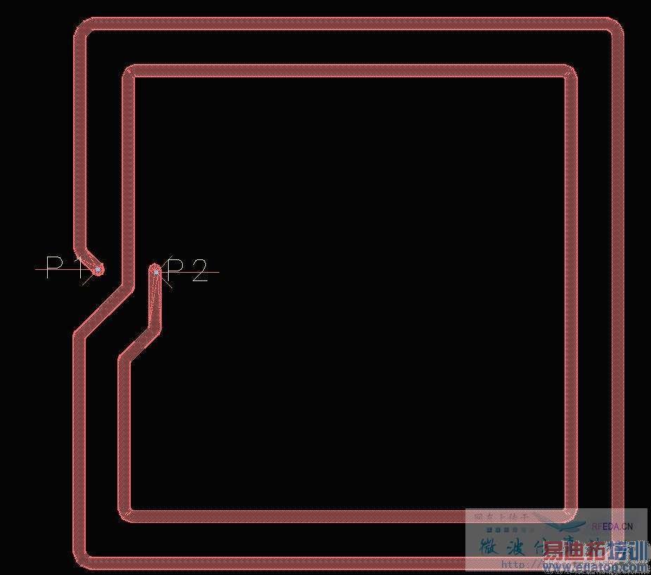 线圈相框素材模板