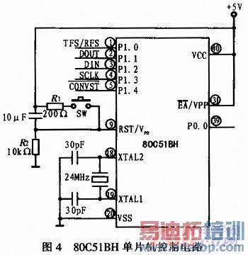 电路设计成一个同相比例运算电路
