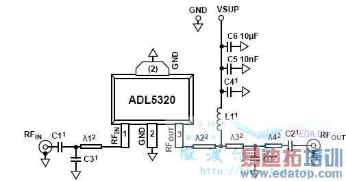 传输线和分立电容元件的混合匹配网络的pcb实现问题?