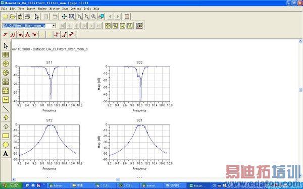 带通滤波器的s参数曲线hfss中仿真结果为何与ads相差