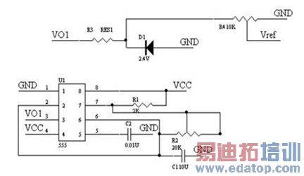 图2 钳位电压发生电路