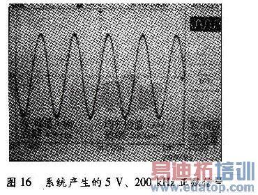 方波,锯齿波,三角波,高斯白噪声等常用信号,该信号发生器具有频率
