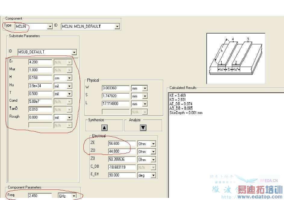 (2014-08-09) 微带滤波器的频偏 (2014-08-09) 滤波器耦合矩阵中,如何
