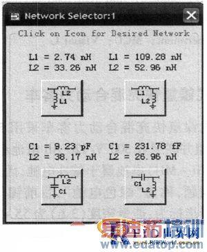 将匹配电路与天线串联连接后,用ads仿真得到此时天线的谐振频率与带宽