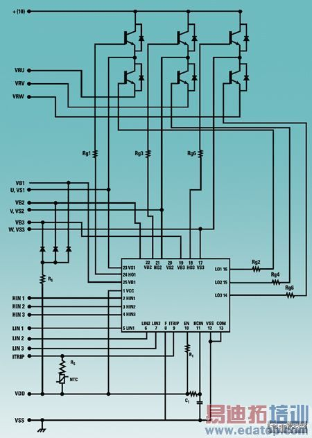 双极电容起动电机接线图