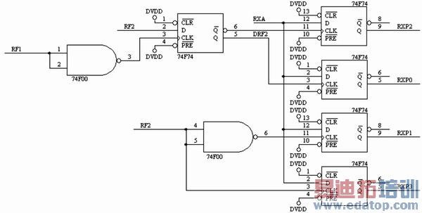 图3 音频二次解复接的电路原理图
