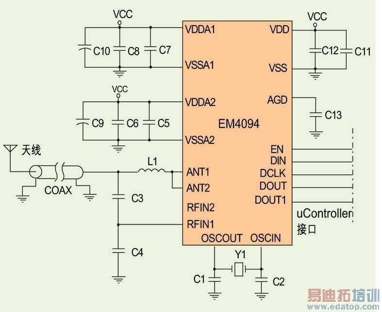 典型的应用电路配置.