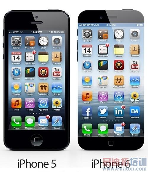 惊艳无边框 iphone 6概念设计 再曝光