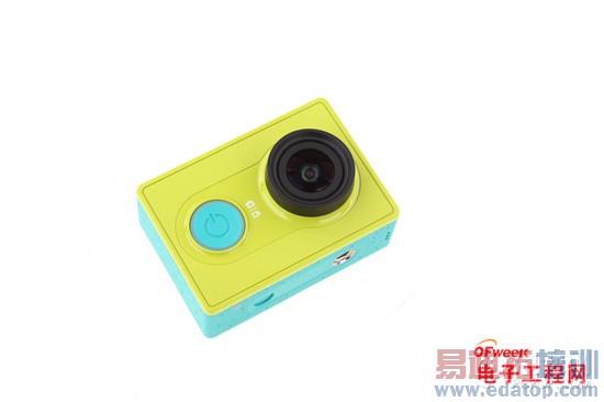 小蟻運動相機評測+拆解:399元只是玩具?