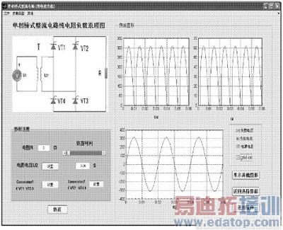 基于matlab gui的整流电路仿真设计