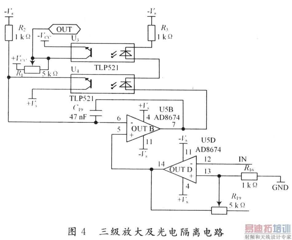 本文设计了由双t网络和运算放大器构成的有源双t陷波电路来抑制50 hz