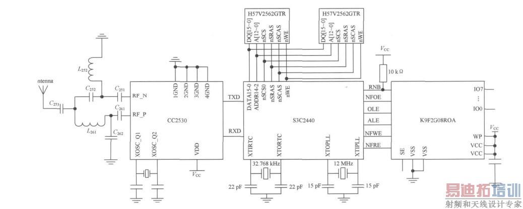 电路 电路图 电子 户型 户型图 平面图 原理图 1038_416