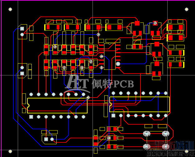 如果在元件层放置的话,制作pcb电路板时是腐蚀的铜字!
