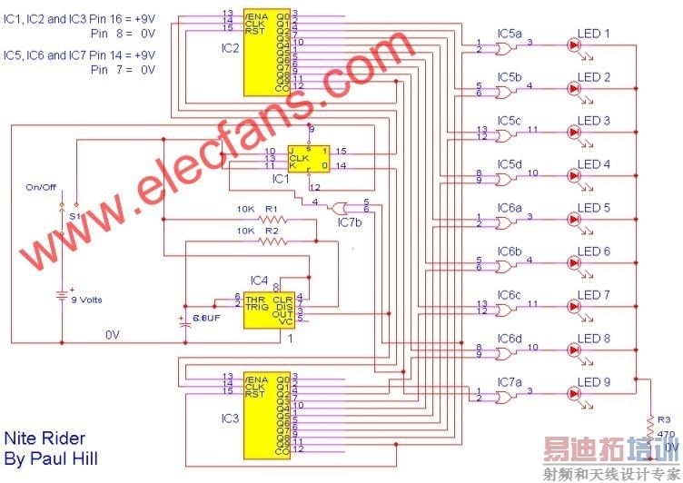 汽车12v至正负20v的转换器电路