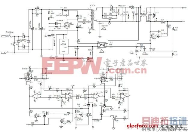 8.4v/1a微打印机智能锂电池充电器设计