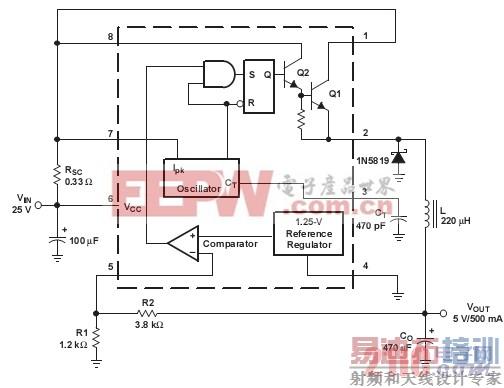 几种稳压器( ti) 的典型应用之mc34063