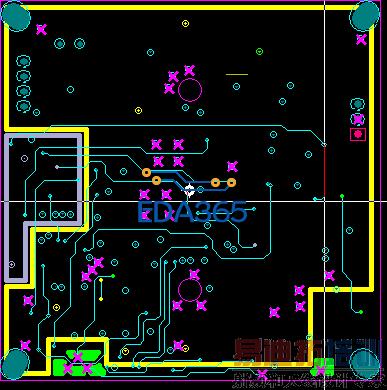 PADSLayout中4层板问题层分割电源纵断图怎么绘制图片